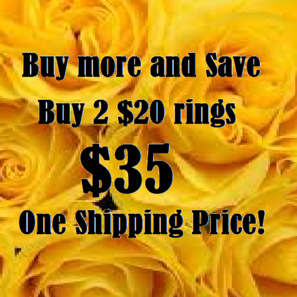 Jewelry - Buy 2 Rings!